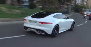 The Jaguar F Type Jaguar F Type R Just Being A Loud Bad Boy On The Streets