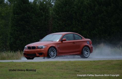 bmw 1 series m coupe at the m performance school