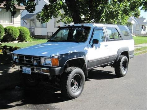 1986 Toyota 4runner Parts Willie93delsol 1986 Toyota 4runner Specs Photos
