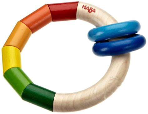Haba Toot Toot Clutching haba rainbow ring wooden clutching destination baby