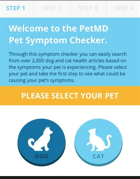 pet md symptom checker pet symptom checker by petmd app for iphone ready for pets