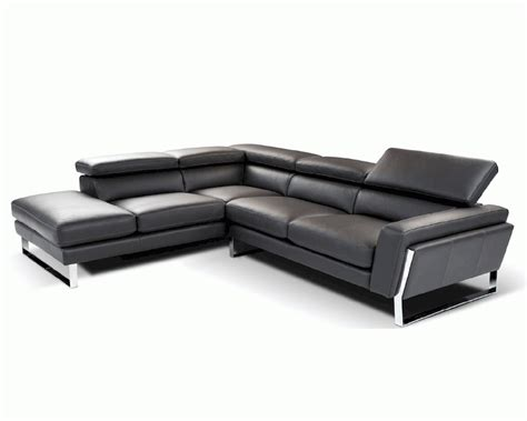 Italian Leather Sectional Sofa Modern Style Italian Leather Sectional Sofa 44l6072