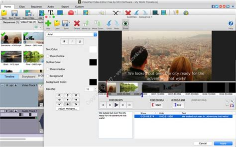 videopad transitions tutorial nch videopad pro v5 30 macosx a2z p30 download full