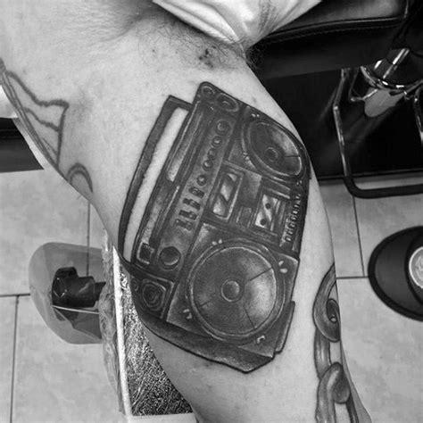 new school boombox tattoo 40 boombox tattoo designs for men retro ink ideas
