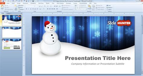 snowman powerpoint template  powerpoint templates slidehuntercom