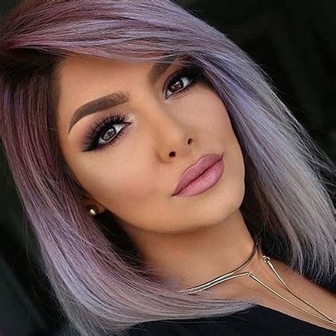 best hair color for hispanic women best 20 purple grey hair ideas on pinterest lilac hair