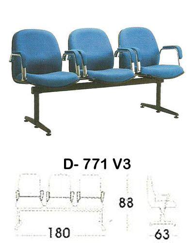 Kursi Tunggu Indachi kursi tunggu indachi d 771 v3 sentra kantor surabaya