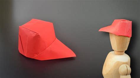 Origami Cap - origami paper cap in br my