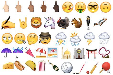 emoji new image gallery new emojis 2015