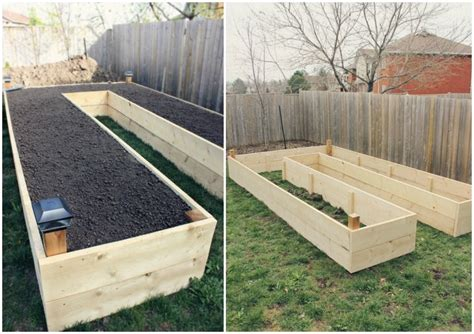 diy garden beds diy u shaped raised garden bed for easy access