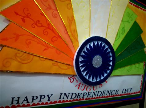 15 August Independence Day Decoration by Craft Ideas And Bulletin Boards For Elementary
