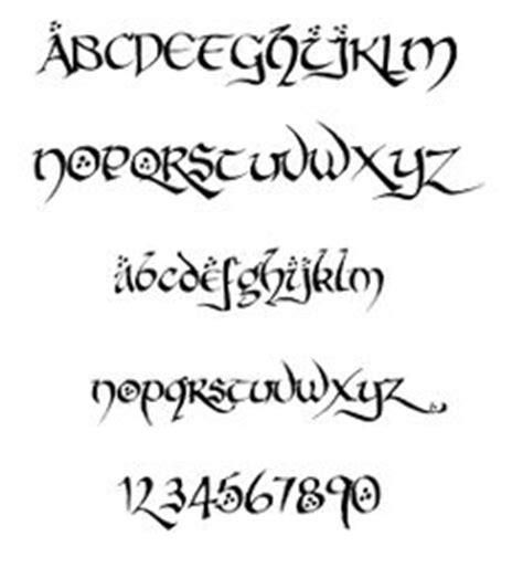 Letter Hobbit 1000 Images About Letters On Fonts Hobbit