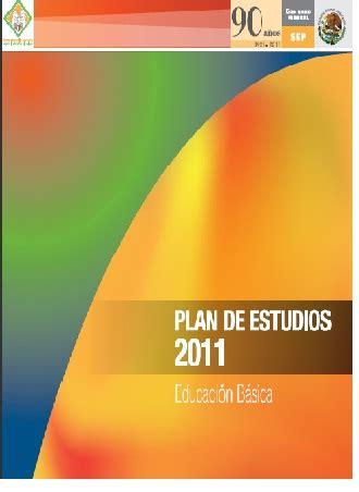 programa de estudios 2011 primaria sexto grado pdfs plan de estudios 2011 en educacion basica octubre 2011