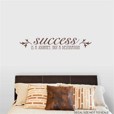 success inspirational motivation vinyl wall quote decal image gallery inspirational wall decals