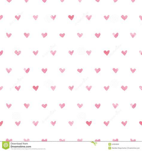 pattern design heart seamless watercolor heart pattern vector stock vector