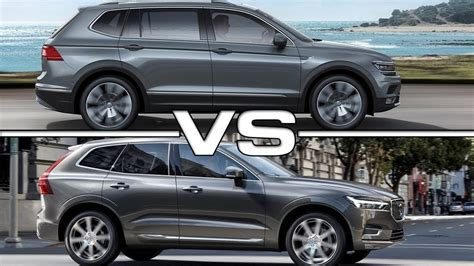 Difference Between 2019 And 2020 Volvo Xc90 by 2018 Volkswagen Tiguan Allspace Vs 2018 Volvo Xc60