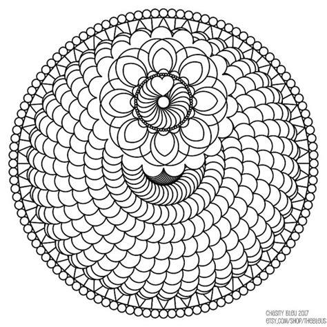 spiral mandala coloring pages spiral mandala coloring pages sketch coloring page