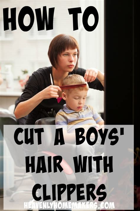 how to cut boys hair like a pro heavenly homemakers how to cut boys hair like a pro part 2 clippers