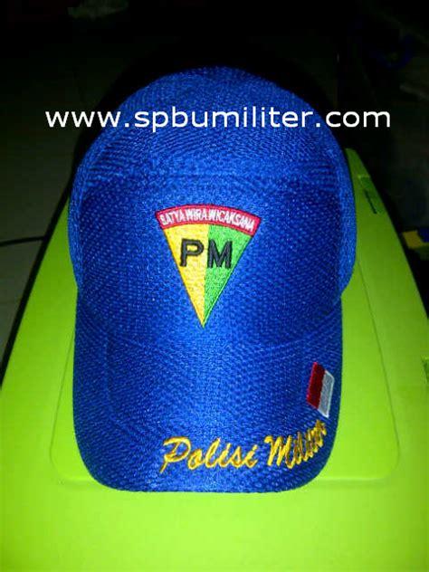 Topi Baret Kostrad By Bareto topi polisi militer biru bendera spbu militer
