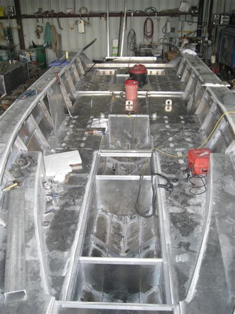 home made offshore speedboat boat design forums 36ft aluminum center console build the hull truth