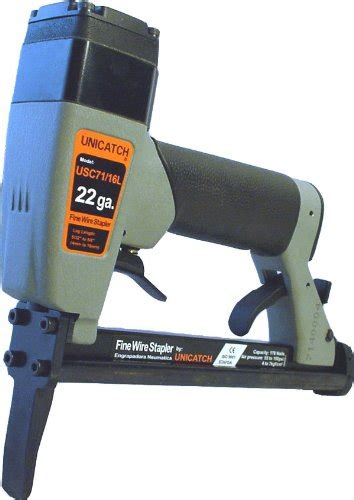 Upholstery Stapler Reviews by Unicatch Usc71 16l Us2238al Nose Upholstery Stapler 22 3 8 Crown Tool Industry