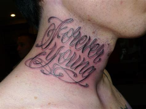 neck tattoo fonts stewart robson black grey and lettering tattoos
