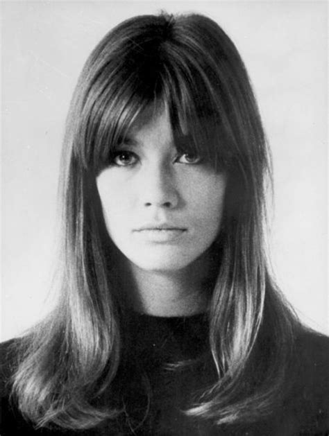 1960s female models with long dark hair garbageman01 francoise hardy 1960s singer model