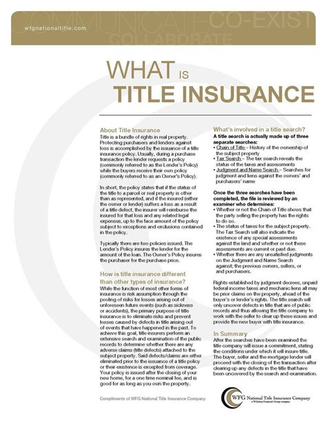 17 best ideas about title insurance on home