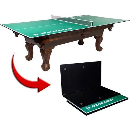 dunlop outdoor ping pong table dunlop 4 table tennis conversion top includes