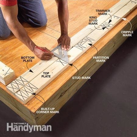 photo wall layout tool wall framing tips for new construction the family handyman