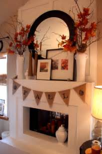 Vases For Fireplace Mantels Fall Mantel Ideas Autumn Mantle Home Stories A To Z