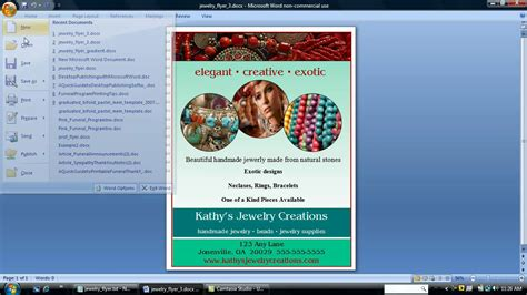 how to design a flyer using microsoft word yourweek 71e947eca25e