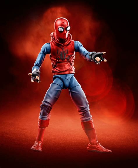 Tony Stark Suits by Marvel Legends Spider Man Homecoming Figures The Toyark
