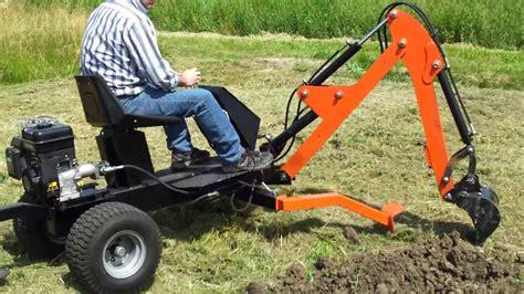 piccoli escavatori da giardino www cmcchianura it towable backhoe miniescavatore ragno