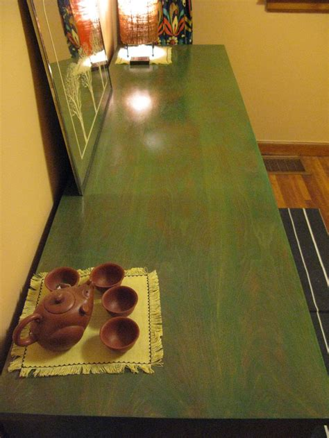 minwax water based stain  green tea wood projects