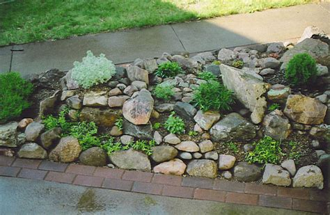 Rock Garden Pictures Rock Garden Construction Wiltrout Nursery Chippewa Falls Wi