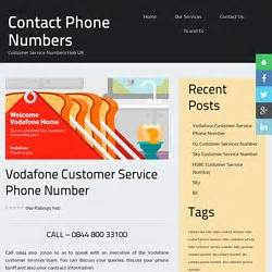 calling vodafone customer services from mobile webcollection pearltrees