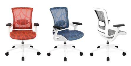 Skate Mesh Ergonomic Chair by 100 Design Introducing Skate Mesh Office Seating