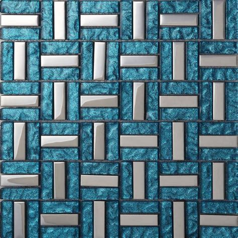 wholesale vitreous mosaic tile glass backsplash