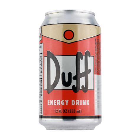 energy drink 1990s the simpsons duff energy drink treasure island