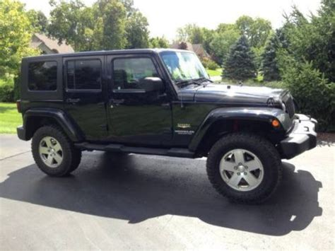 automobile air conditioning service 2008 jeep wrangler interior lighting sell used 2008 jeep wrangler unlimited sahara sport utility 4 door 3 8l in east lansing