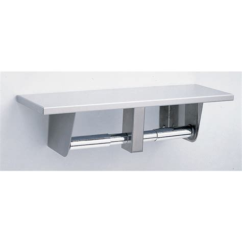 toilet paper shelf 2840 surface mounted toilet paper holder w shelf manning