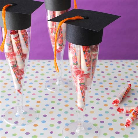 Graduation Giveaways - three easy graduation favors anyone can make