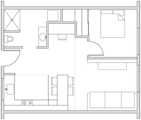 300 square foot apartment floor plans 25 best ideas about small house design on pinterest