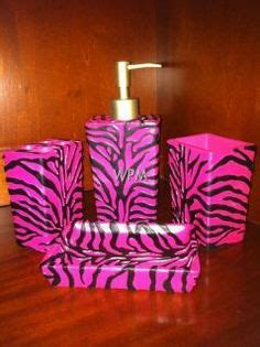 black and pink bathroom decor pink black zebra bathroom accessories