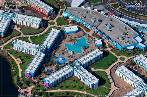 PHOTOS   Aerial views of Disney's Art of Animation Resort