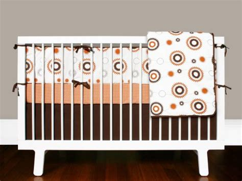 Orange And White Crib Bedding by Olli Lime Billie 4 Crib Bedding Set Orange White