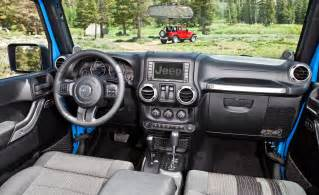 Interior Jeep Wrangler Car And Driver