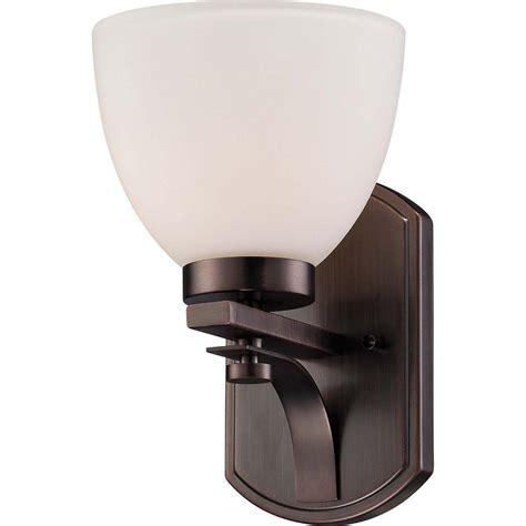 gallego 3 light glass shade vanity light sea gull lighting wheaton 3 light heirloom bronze vanity
