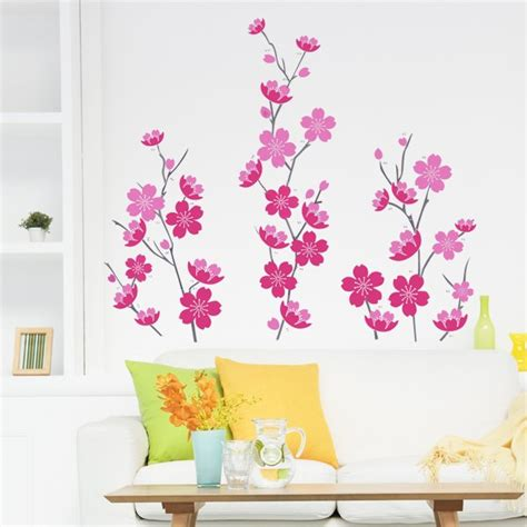 Jual Wallpaper Ay7278 Stiker Dinding Wall Sticker jual wall sticker pink flowers stiker dinding uk 60x90 di lapak ini wallsticker iniwallsticker